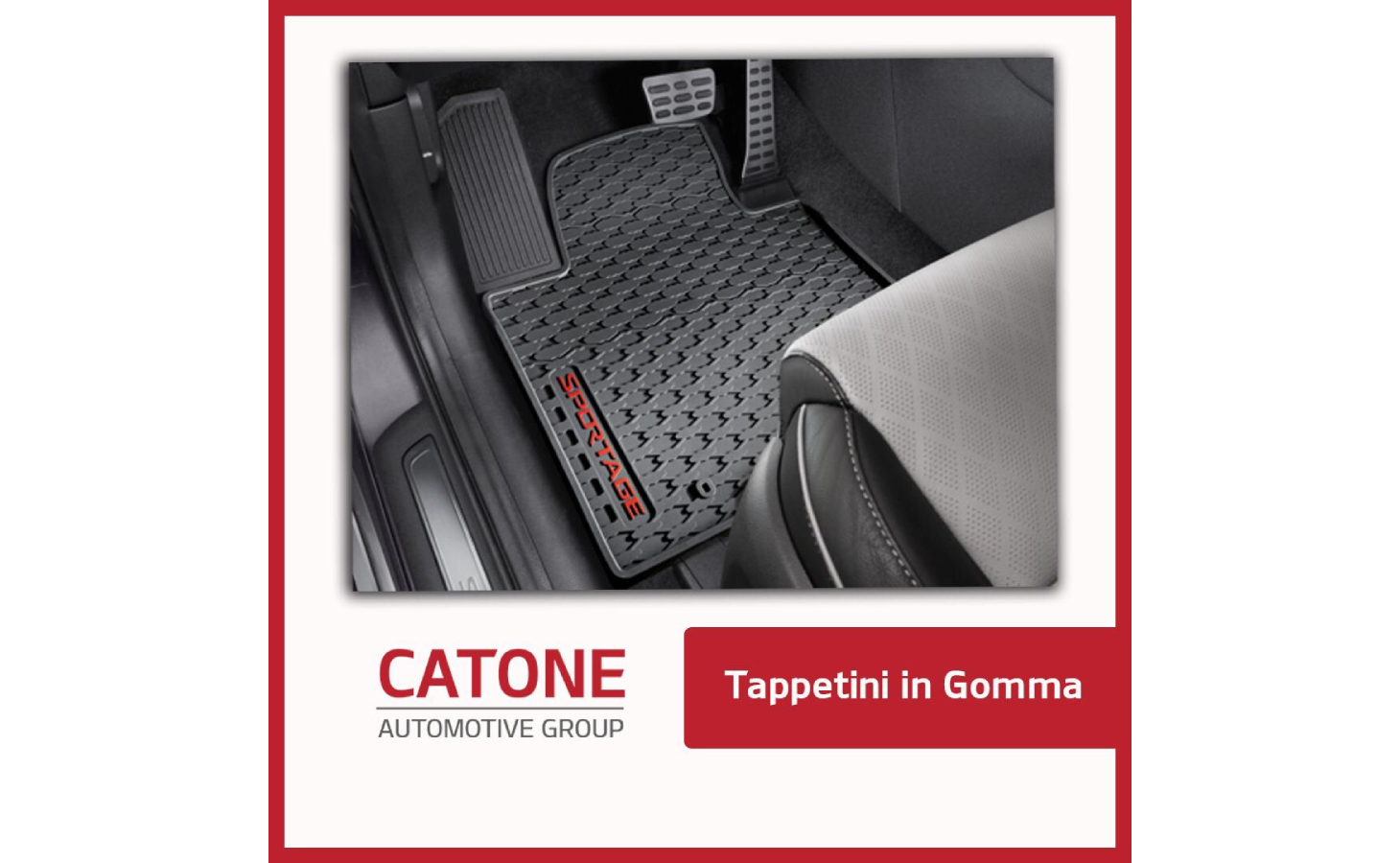 Tappetini Gomma Sportage 1