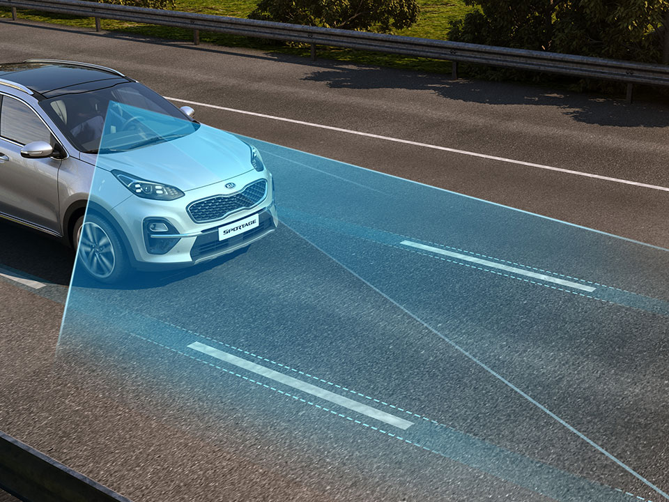 Kia Sportage My19 Lane Keeping Assist