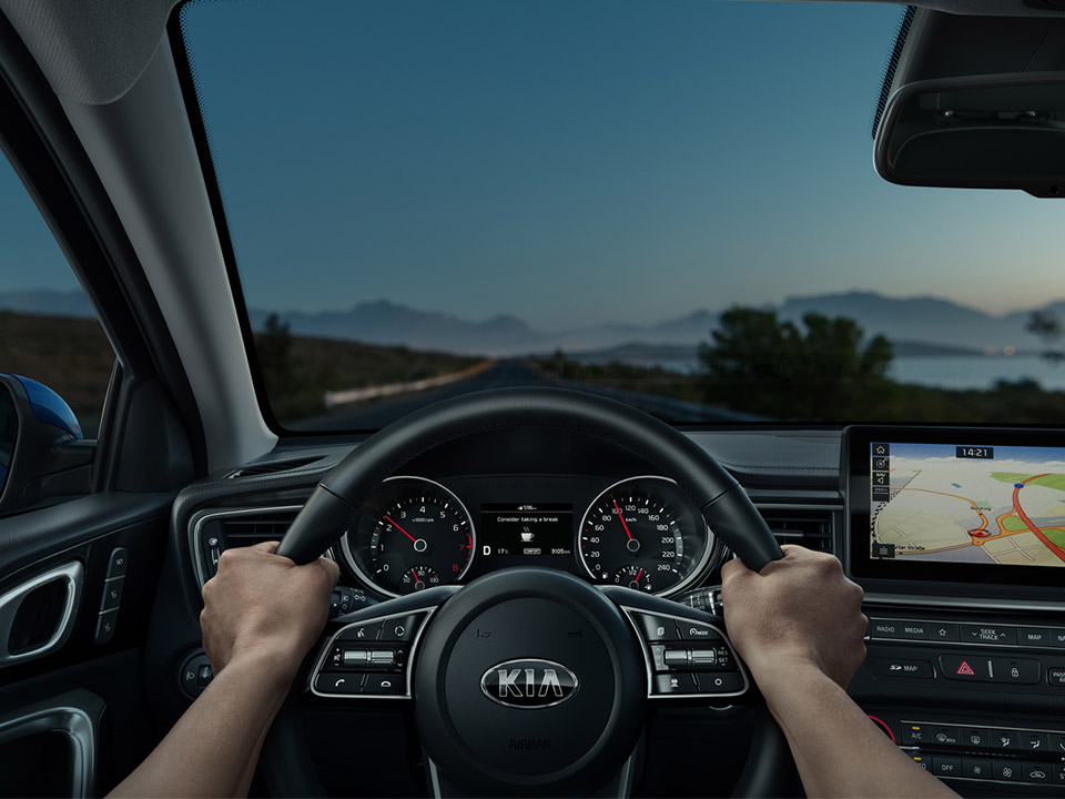 Kia Proceed Cd Sb My19 Driver Attention Alert