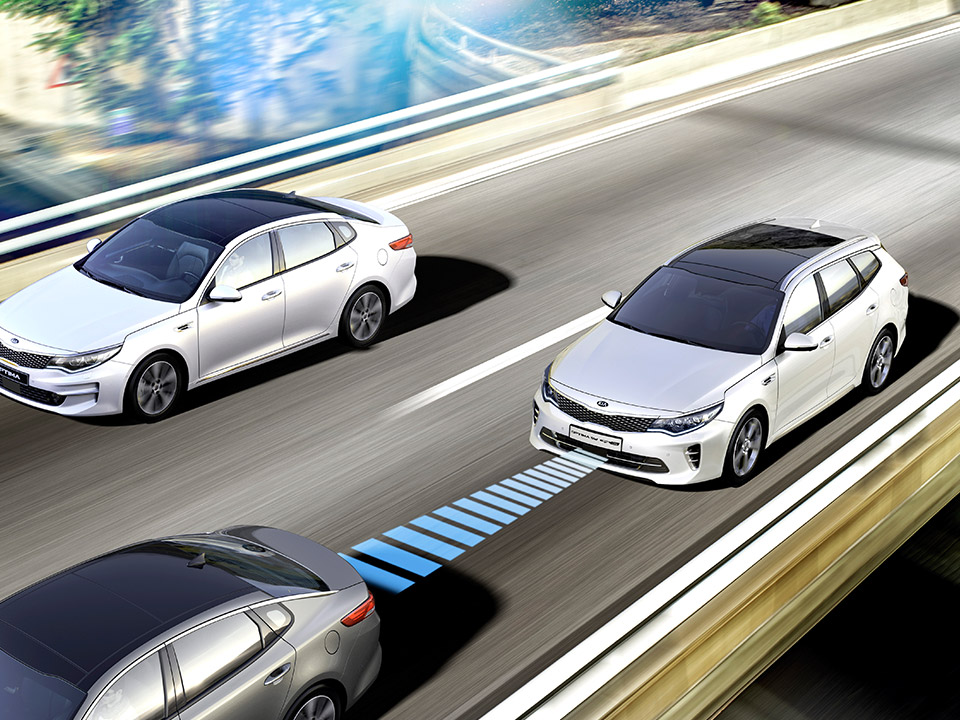 Kia Optima Sw Phev Advanced Smart Cruise Control