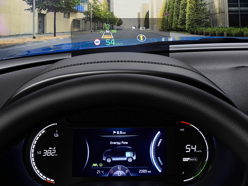 Kia E Soul Suv My19 8 Head Up Display