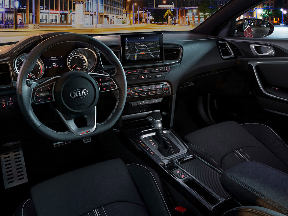 Kia Proceed Cd Sb My19 Sophisticated Interior