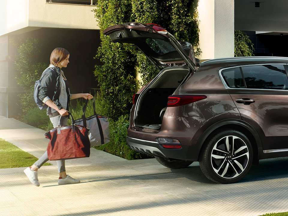 Kia Sportage Ql Pe My19 Smart Power Tailgate