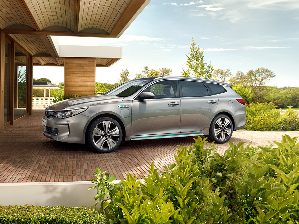 Kia Optima Sw Phev Forward Design