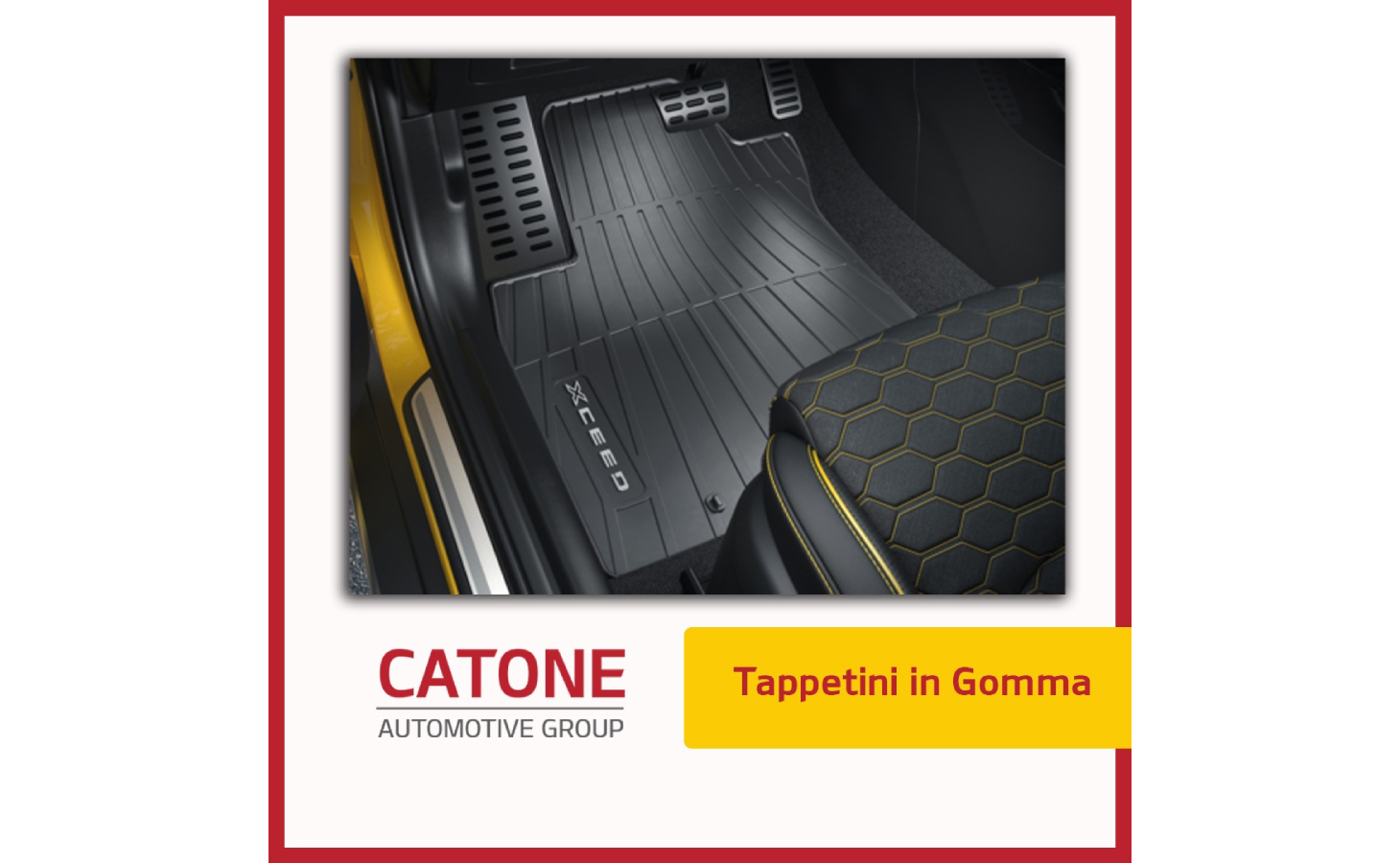 Tappetini Gomma Xceed