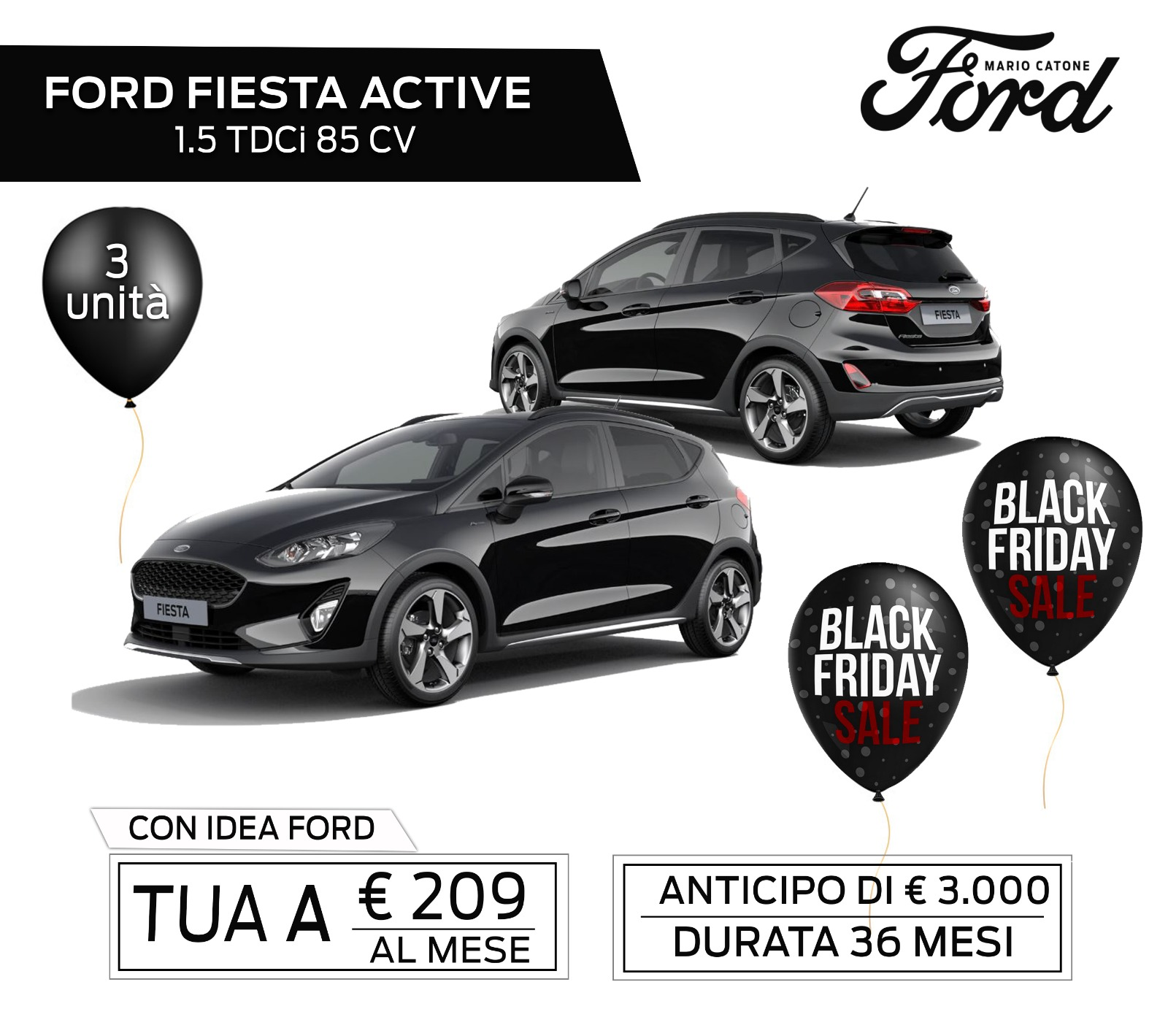 Fiesta Active Black Fridai